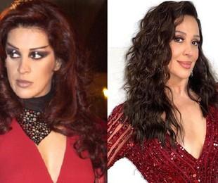 Claudia Raia foi a vampira Mina, grande companheira de Bóris (Tarcísio Meira). A atriz está escalada para a trama das 18h 'Além da ilusão' | Globo e reprodução