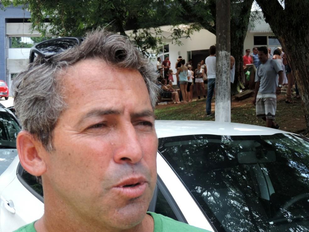 Hoje com 49 anos, Fábio Gouveia mora em Santa Catarina mas não esquece as raízes nordestinas (Foto: Renan Koerich)