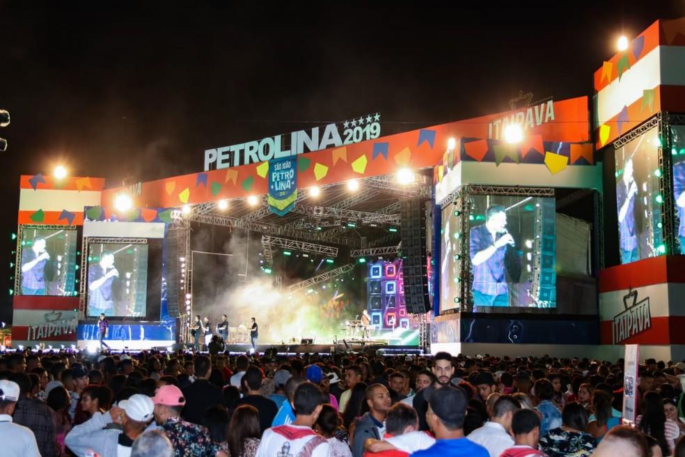 Segunda noite de festa no São João de Petrolina — Foto: Ascom / PMP