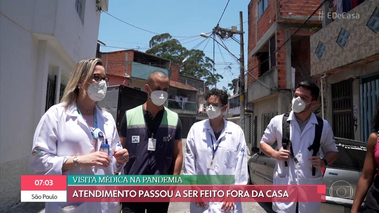 Veja como está sendo o trabalho dos médicos de família durante a pandemia