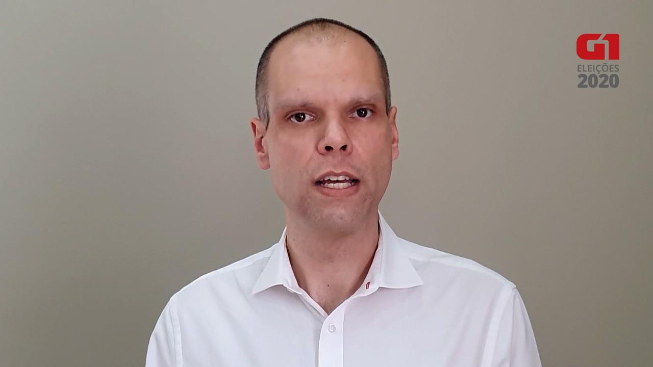 Ônibus - Bruno Covas, candidato à Prefeitura pelo PSDB