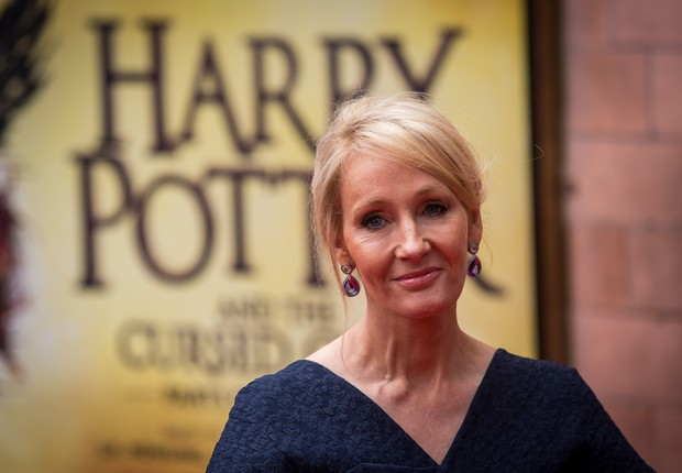 J.K. Rowling, autora dos livros do Harry Potter (Foto: Rob Stothard/Getty Images)