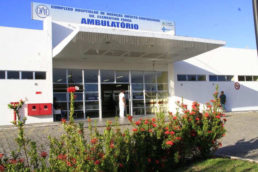 Hospital Clementino Fraga tem 100% de ocupação em leitos de enfermaria e de UTI para Covid-19, em João Pessoa — Foto: Kleide Teixeira / Jornal da Paraíba