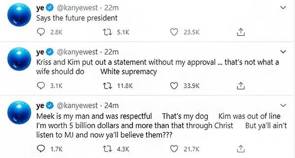 Kanye West (Foto: Twitter)