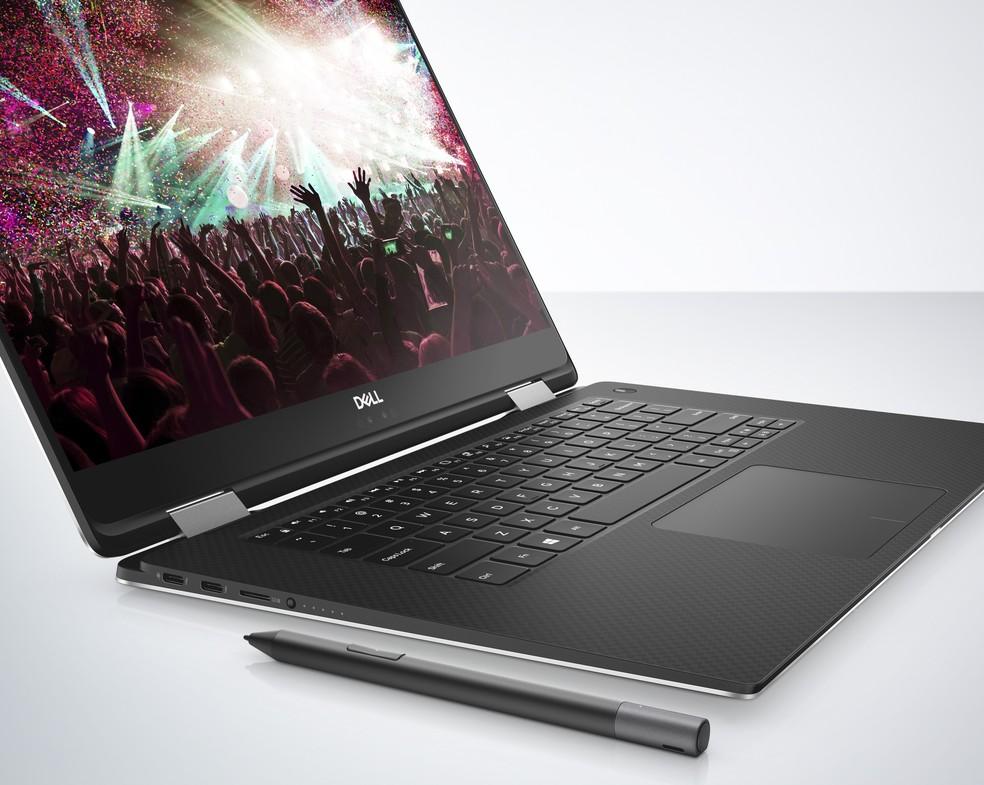 Notebook 2 em 1 XPS 15 é o lançamento da Dell na CES 2018 (Foto: Divulgação/Dell)