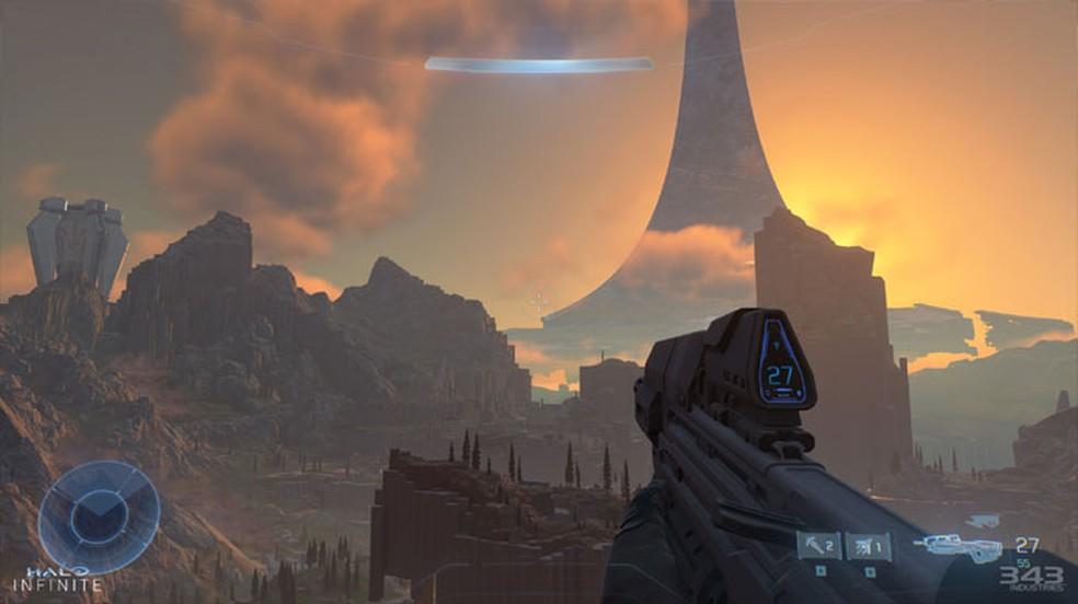 Halo Infinite é um dos jogos mais esperados da E3 2021 e pode receber uma data de lançamento pela Microsoft — Foto: Reprodução/Steam