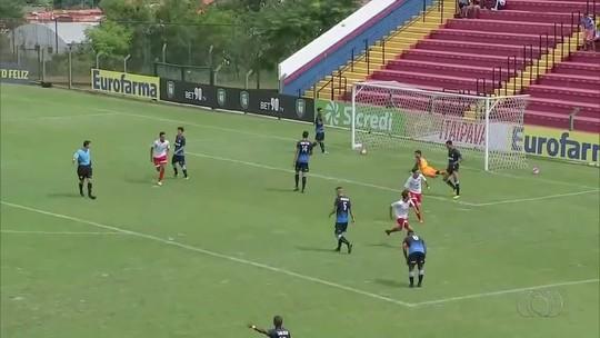 Luiz Gustavo marca para o Desportivo, mas não evita eliminação na Copinha