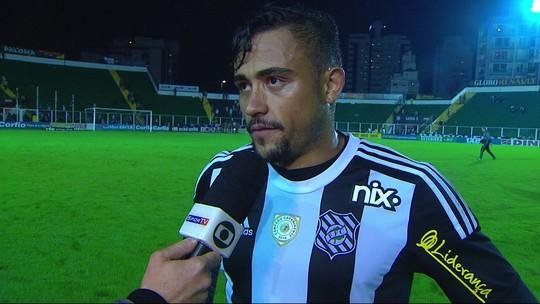 """Lazaroni fala sobre o empate com o Londrina: """"Tivemos chances"""""""