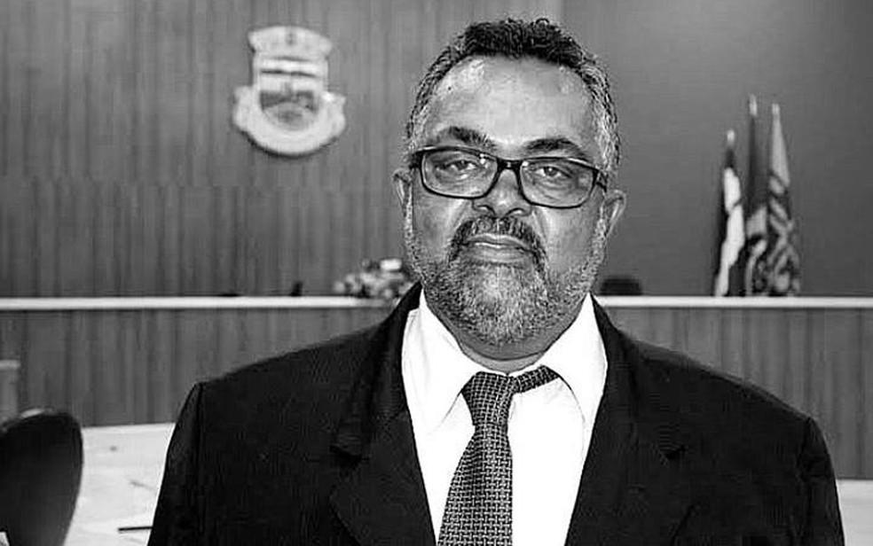 Presidente da Câmara de Brumado, Zé Carlos, morre por complicações da Covid-19  — Foto: Divulgação/Câmara de Vereadores de Brumado