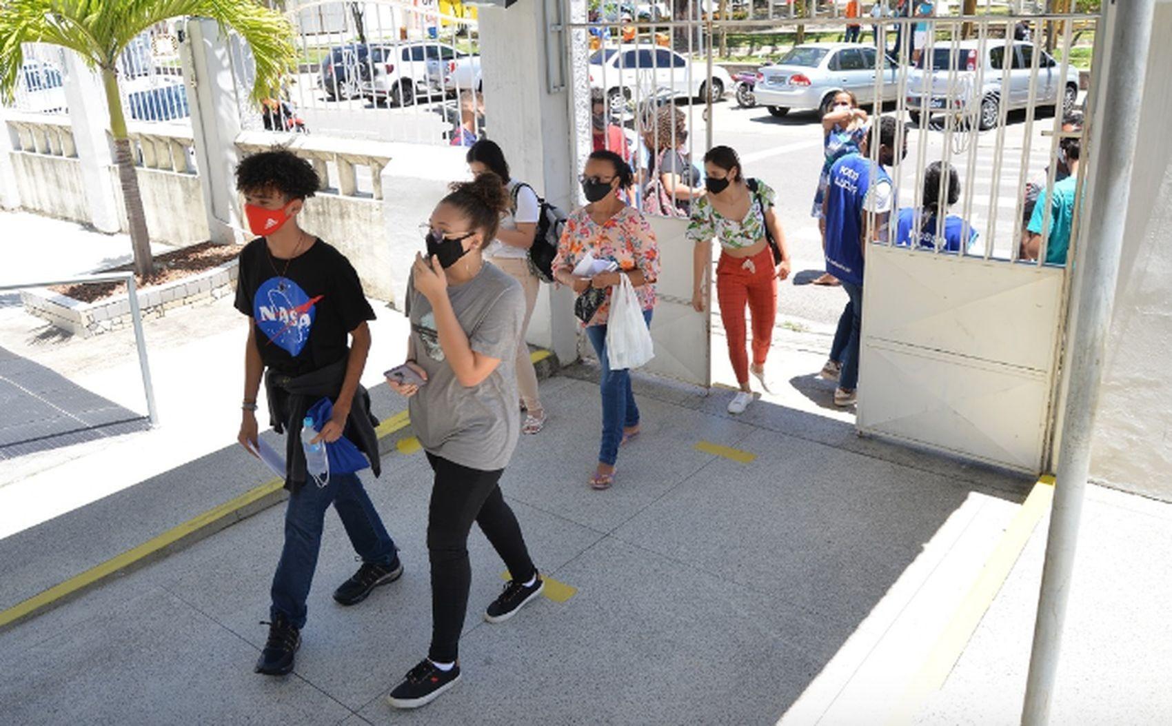 Após 46% de abstinência no primeiro dia de provas, candidatos de Sergipe enfrentam segunda rodada da versão impressa do Enem