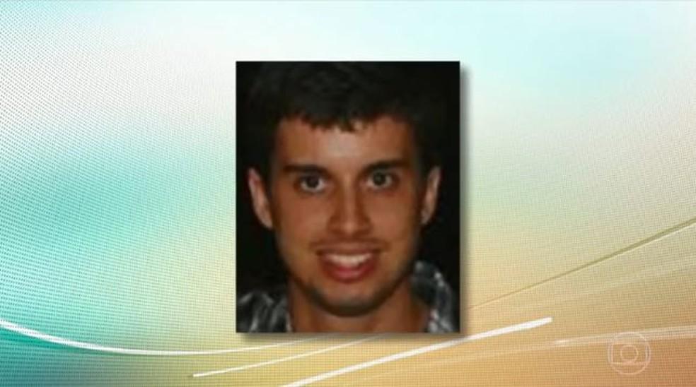 Mateus Von Rondon foi preso em Brasília — Foto: Reprodução/TV Globo