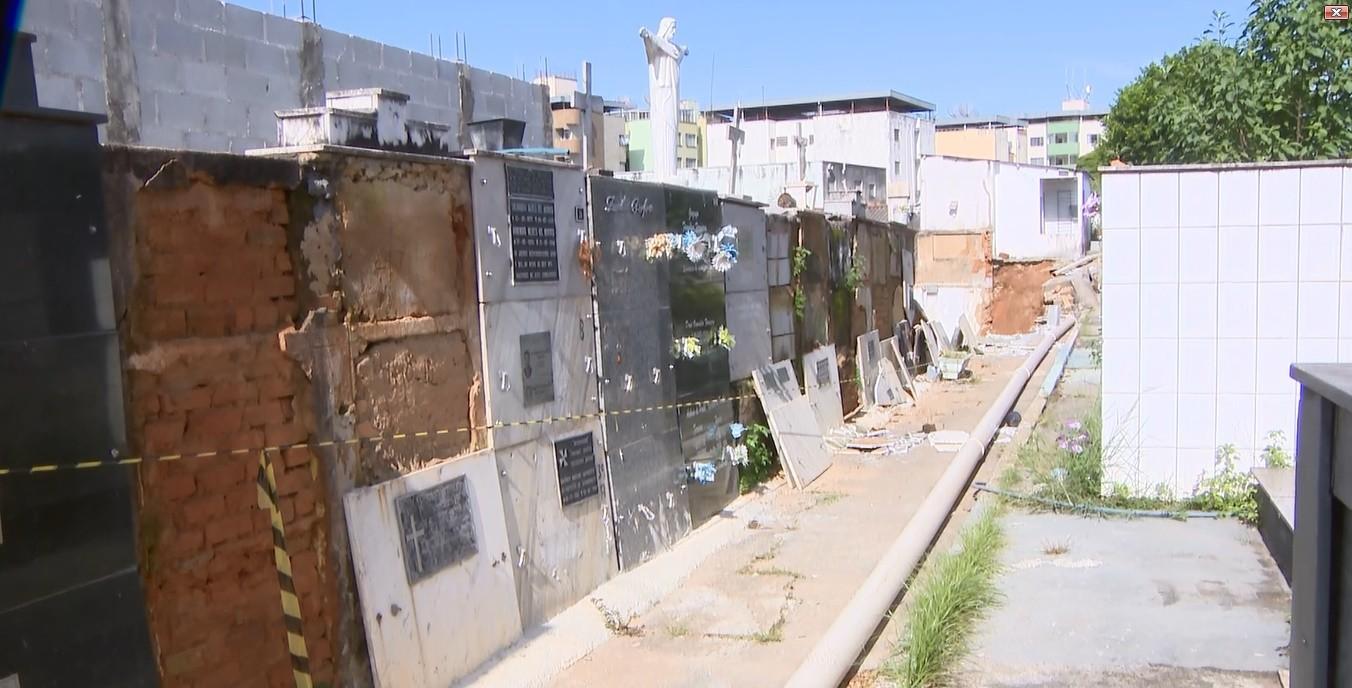 Cemitério da Paz: Prefeitura de Divinópolis anuncia transferência de restos mortais recuperados no local do acidente