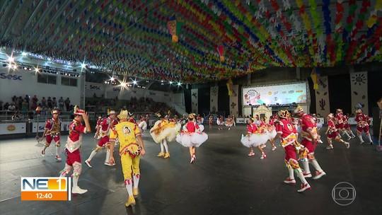 Animação toma conta do terceiro dia de seletivas do Festival de Quadrilhas Juninas da Globo