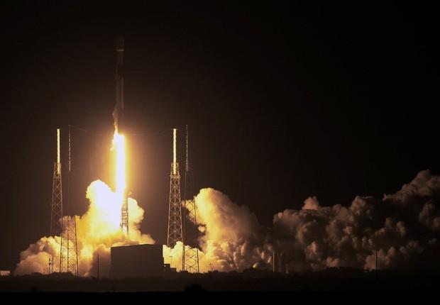 SpaceX lança nave israelense rumo à Lua em parceria com empresa israelense (Foto: Paul Hennessy/NurPhoto via Getty Images)