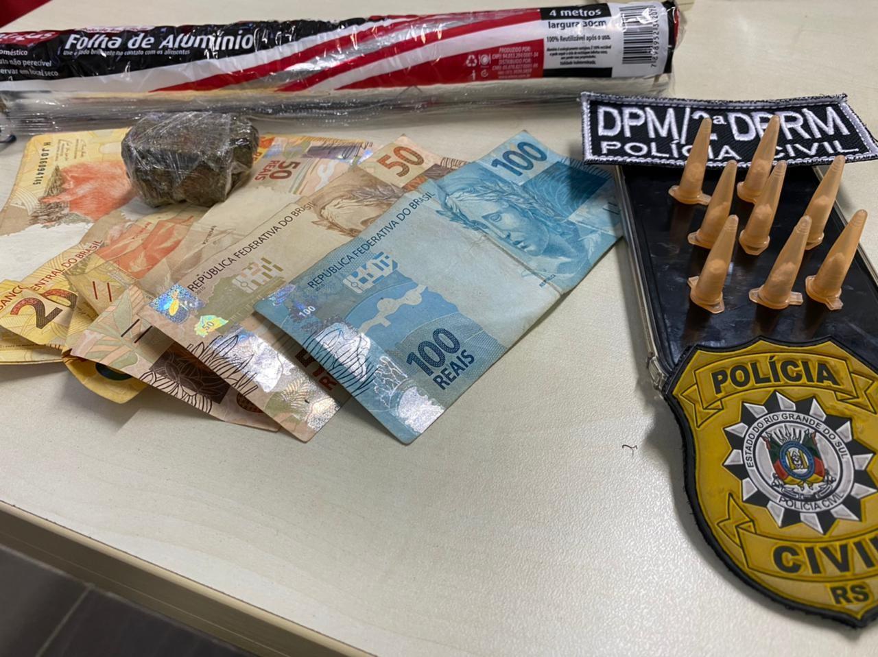 Suspeitos são presos em operação contra tráfico de drogas em Osório e Canoas