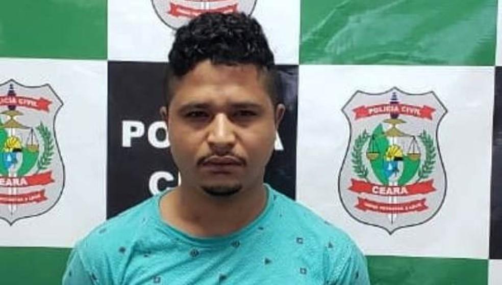 Homem é preso junto com a esposa no Crato, no Ceará — Foto: Divulgação/Polícia Civil