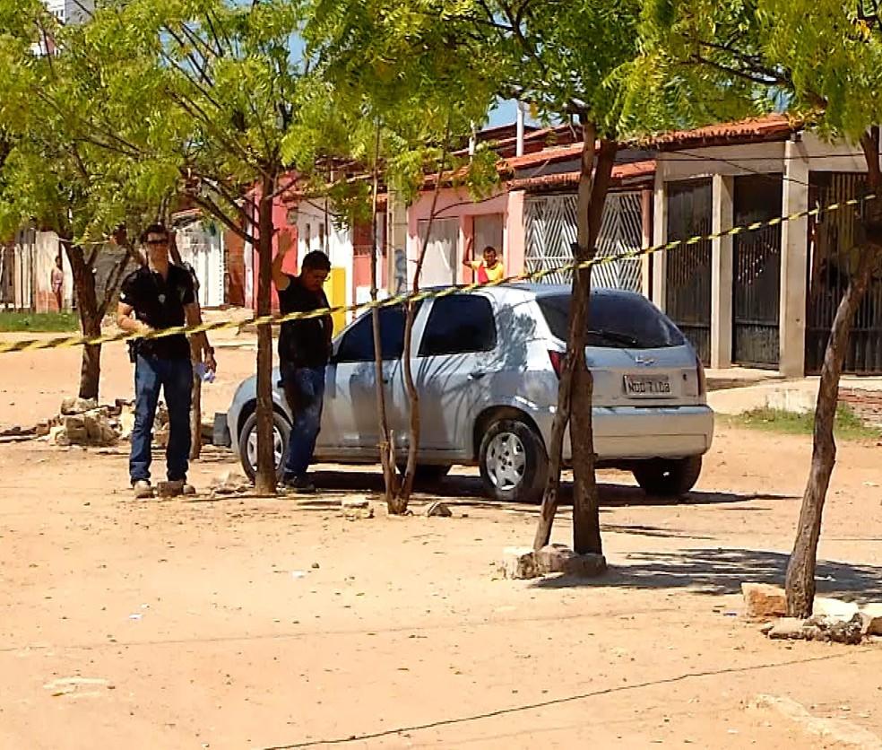 Homem foi morto em Mossoró — Foto: Reprodução/Inter TV Cabugi