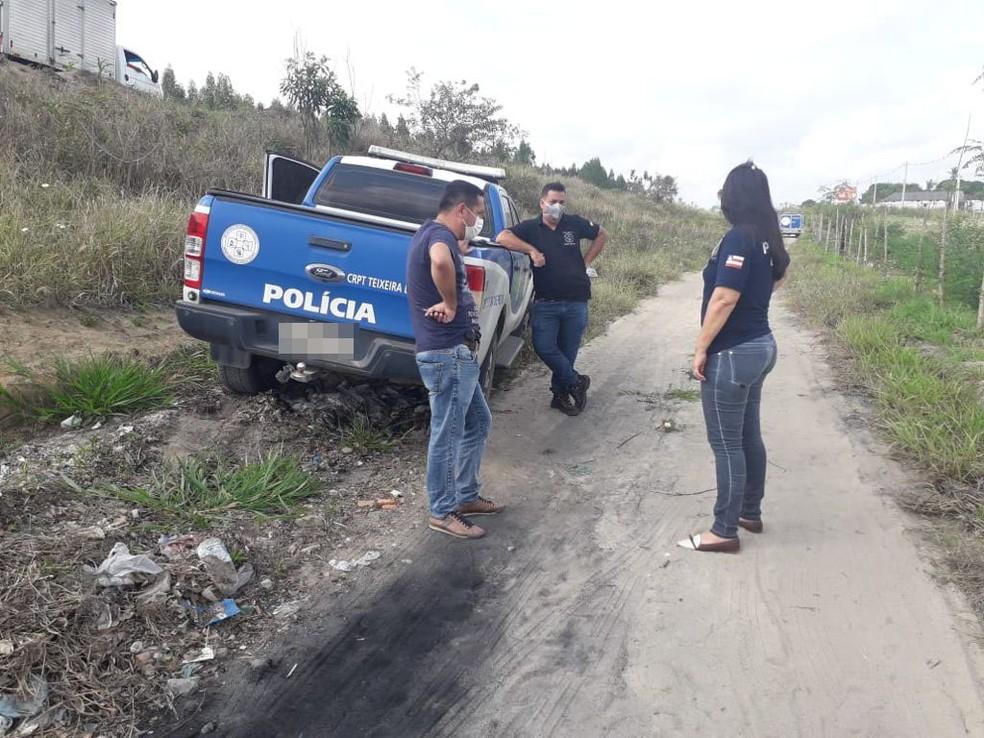 Homem é preso após assassinar irmão de 9 anos no sul da Bahia; família acredita que vítima foi morta por ciúmes — Foto: Lenio Cidreira/LiberdadeNews