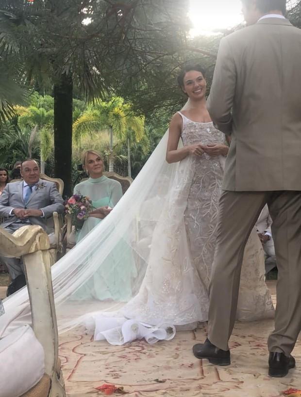 O casamento de Isis Valverde (Foto: reprodução / Instagram)