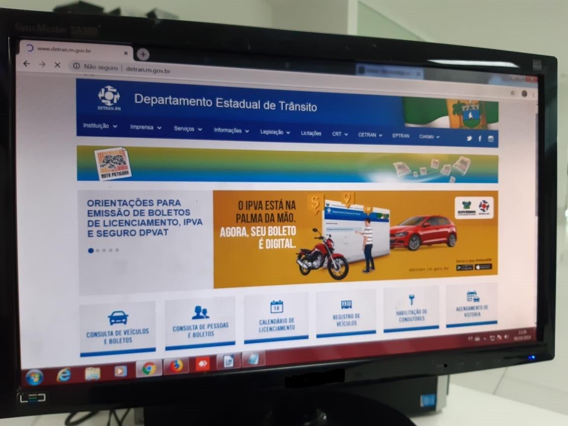 Detran retoma serviço de emissão e renovação de CNH em Natal e Mossoró
