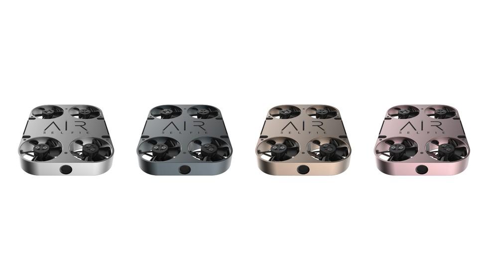 Nova versão do drone pode ser encontrada em várias cores (Foto: Divulgação/AirSelfie)