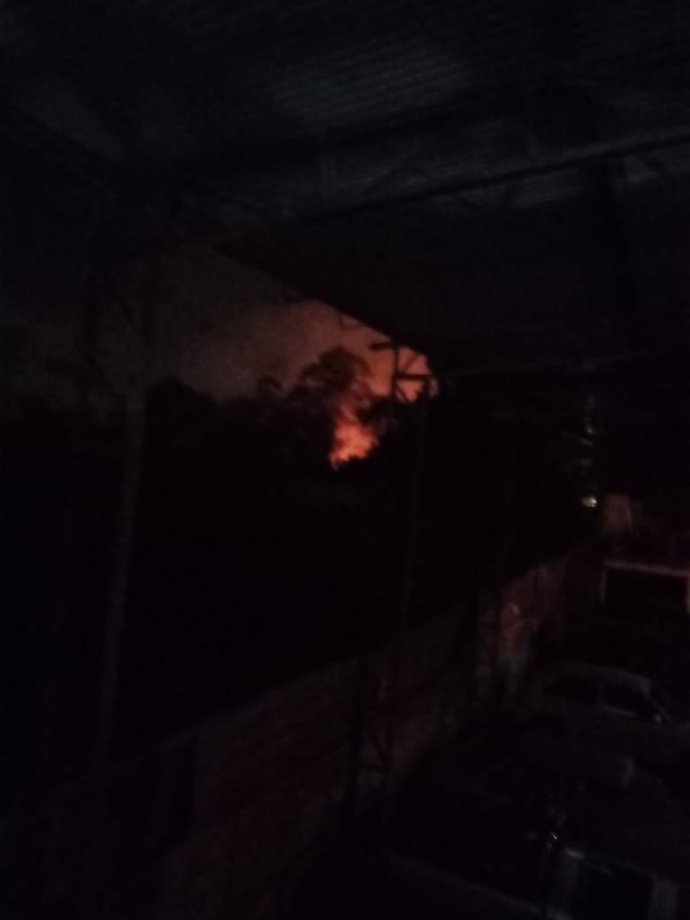 Incêndio atinge mais de 10 mil m² de área verde no Jardim Caxambu em Jundiaí