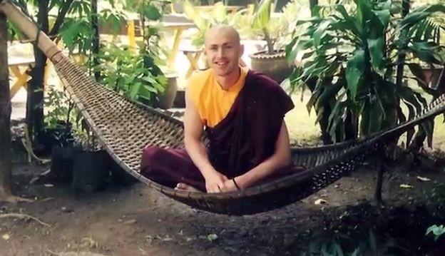 Andy viveu 10 anos como monge (Foto: ANDY PUDDICOMBE/ BBC News Brasil)
