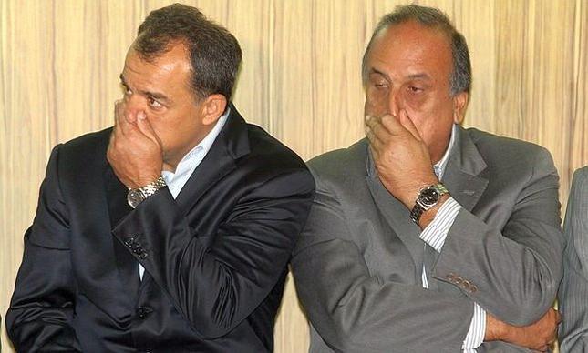 Sérgio Cabral e Luiz Fernando Pezão