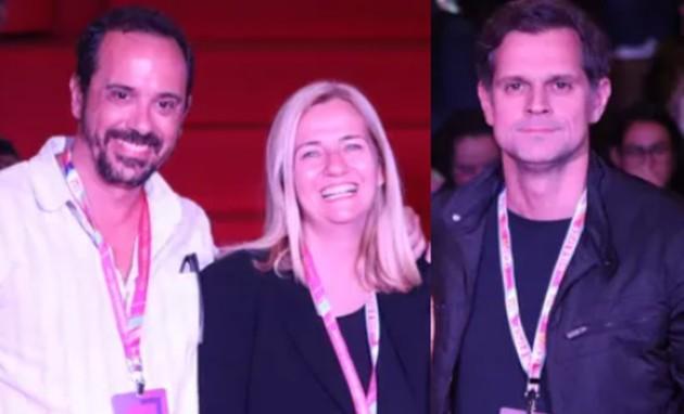 Nelito Fernandes, Martha Mendonça e Leonardo Nogueira (Foto: Gshow)
