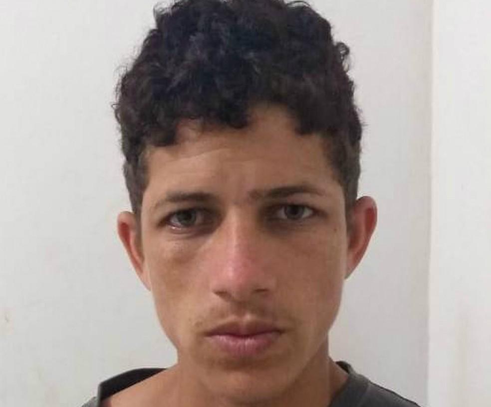 Homem foi preso em Conceição do Almeida, na terça-feira (16). — Foto: SSP-BA/ Divulgação