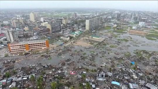 Governo de Moçambique decreta luto nacional, após enchentes provocadas por ciclone