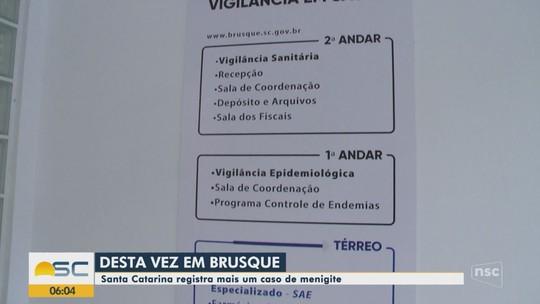Prefeitura confirma dois casos de meningite bacteriana em Brusque