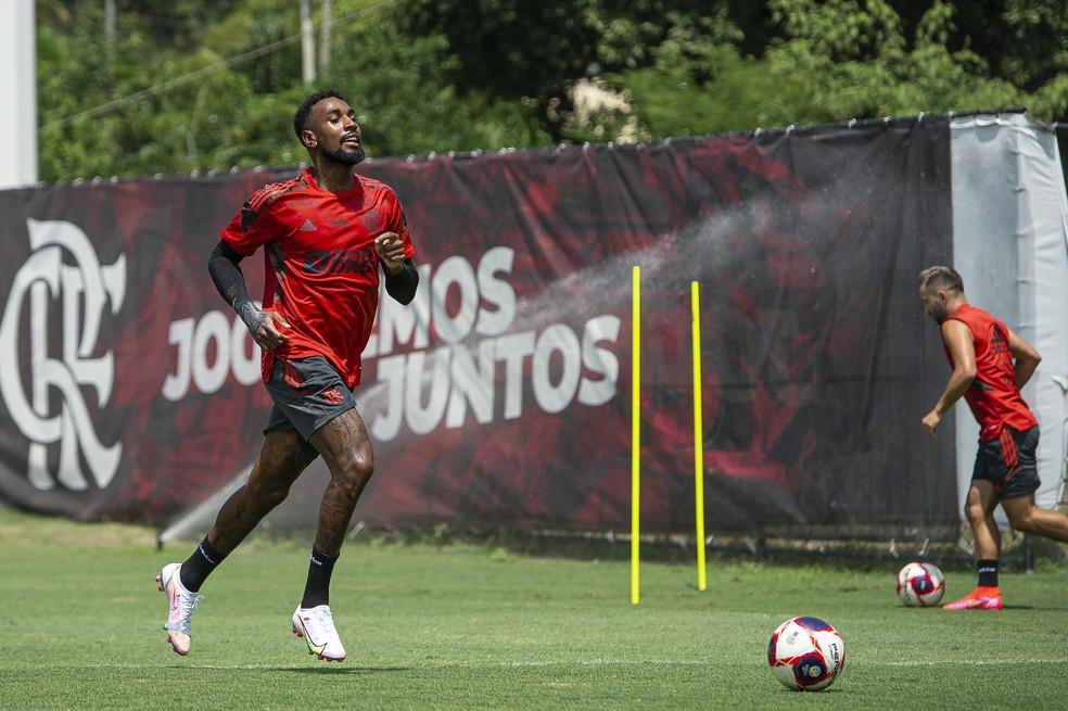 Gerson Flamengo — Foto: Alexandre Vidal / Flamengo