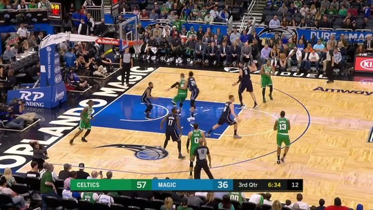 Melhores momentos: Boston Celtics 92 x 83 Orlando Magic pela NBA