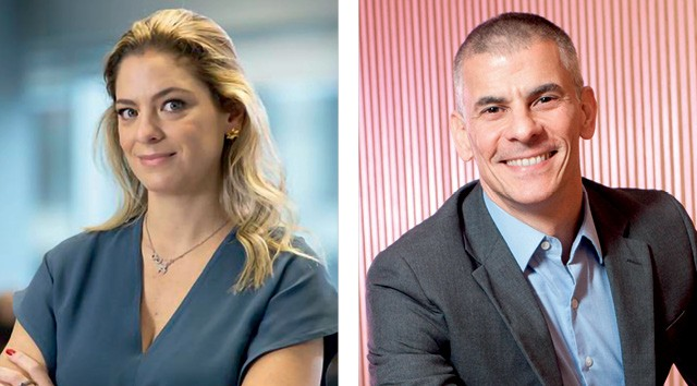 Paula Paschoal, presidente da PayPal, e Fernando Teles, CEO da Visa, apostam no crescimento do setor (Foto: Divulgação)