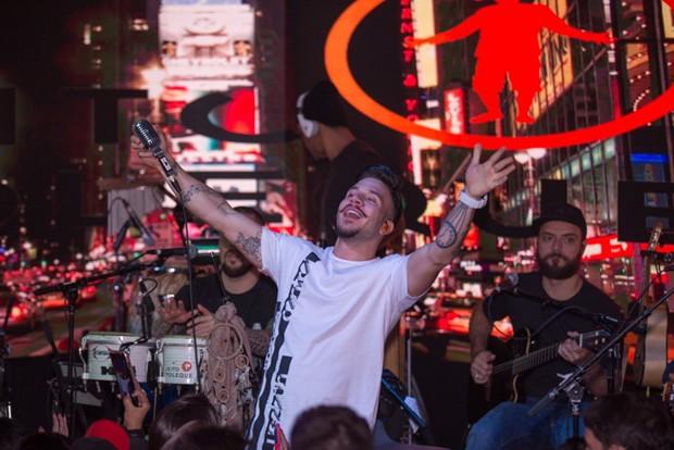 Gui Albuquerque, vocalista do Jeito Moleque (Foto: Paulo Lopes/ Divulgação)