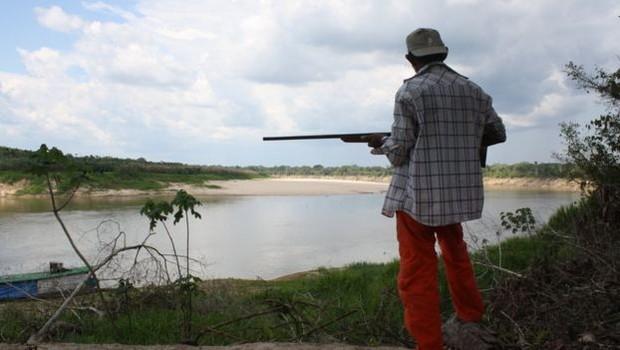 As praias são protegidas por vigilantes locais durante toda a época reprodutiva das tartarugas, que dura cinco meses por ano (Foto: JOSEPH HAWES)