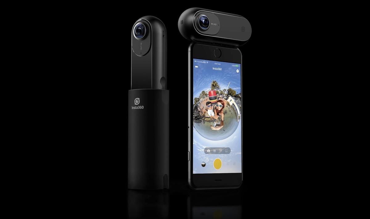 Insta360 One: câmera para smartphones filma em 360 graus