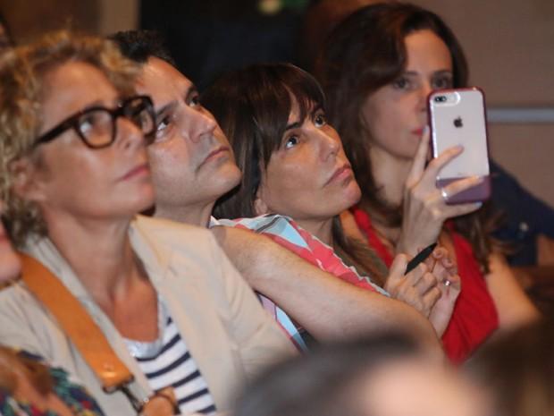 Andréa Beltrão, Bruno Garcia, Gloria Pires e Vanessa Gerbelli (Foto: Daniel Pinheiro/AgNews)
