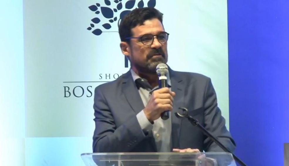Partido Avante oficializou a candidatura de Sério Harfouche à Prefeitura de Campo Grande — Foto: Redes Sociais/Reprodução