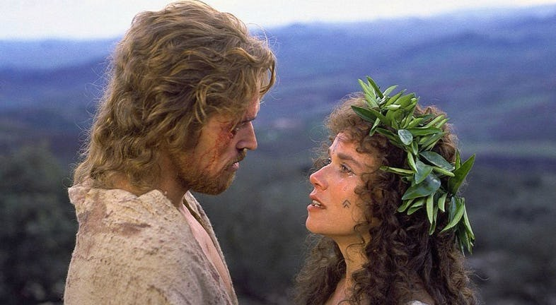 Cena do filme A Última Tentação de Cristo (1988) (Foto: Divulgação)