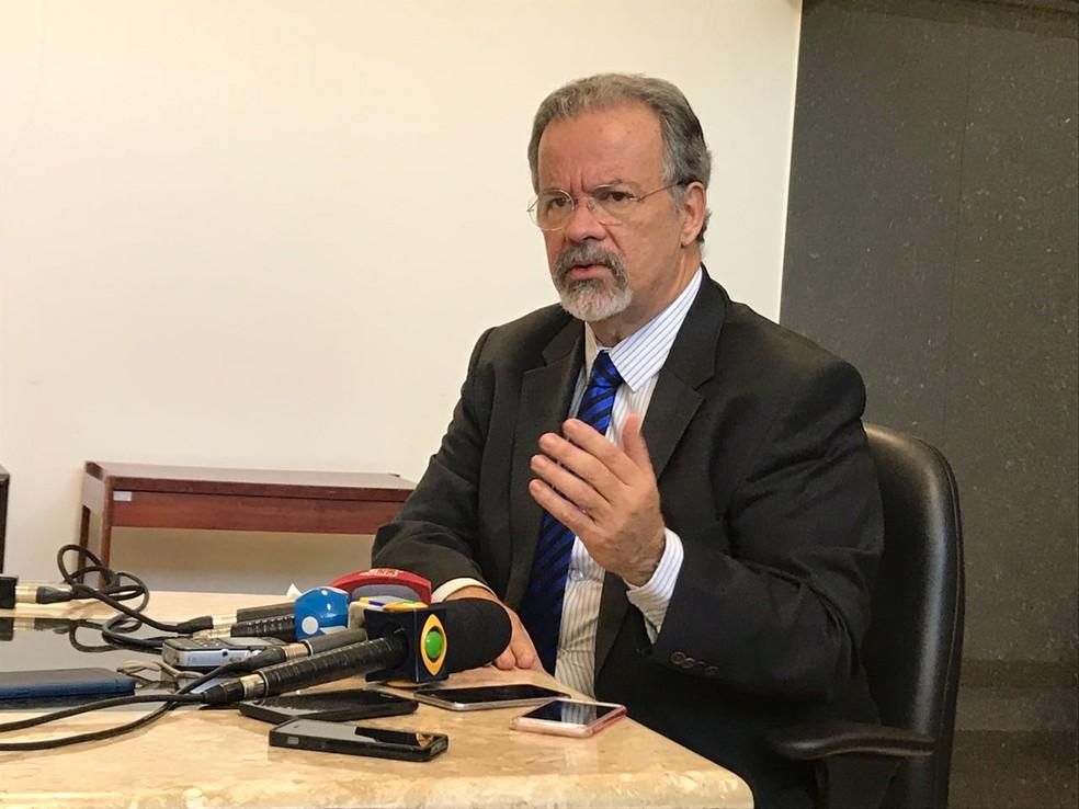 Ministro Raul Jungmann  — Foto: Guilherme Mazui/G1