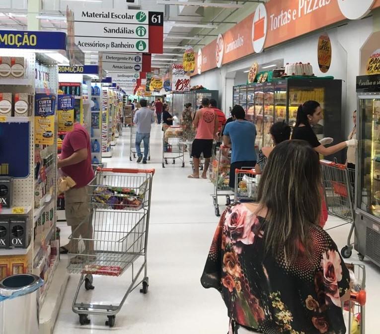 Supermercados e padarias do RN não podem abrir aos domingos e feriados, determina governo