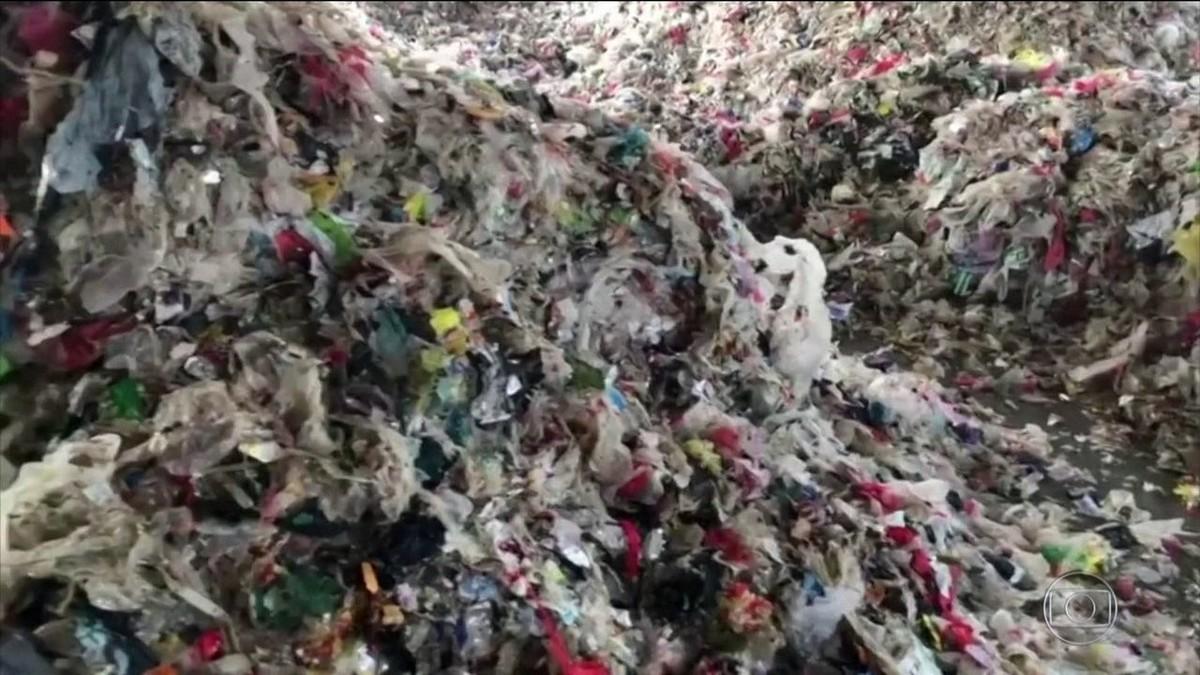 China aprova plano para reduzir uso de plástico descartável thumbnail