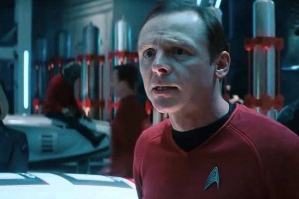 O ator Simon Pegg como seu personagem na franquia Star Trek (Foto: Reprodução)