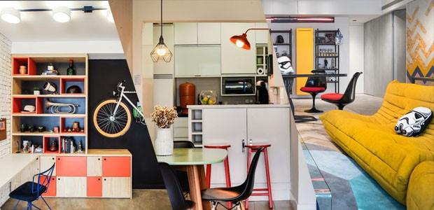 Decoração jovem: 58 ideias para um primeiro apartamento (Foto: Divulgação)