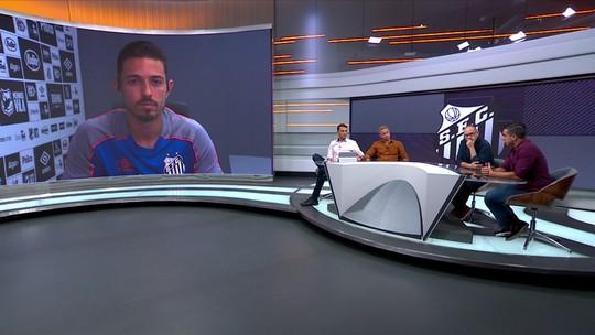 Jean Mota explica evolução com Sampaoli no Santos e vê jogo com Vasco como teste para o Brasileiro