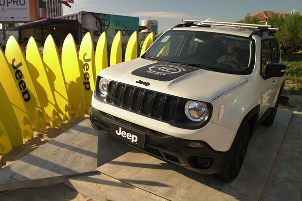 Jeep Renegade WSL (Foto: Divulgação)