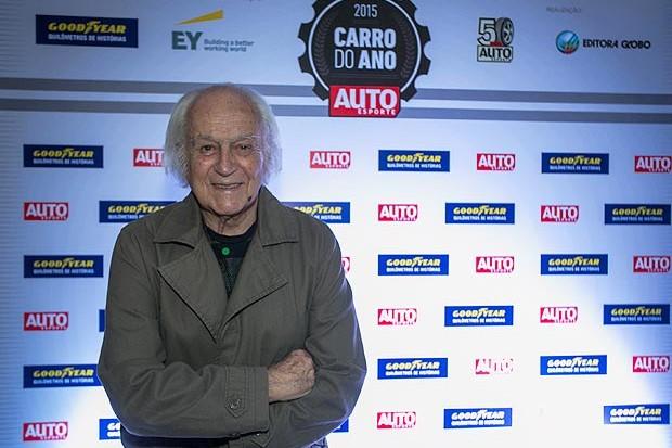 Anísio Campos é homenageado no Hall da Fama Autoesporte (Foto: Ricardo Cardoso/Autoesporte)