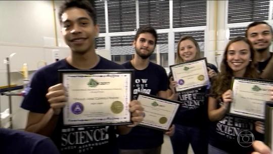 Jovens da Unesp vencem prêmio por avanço no tratamento do diabetes